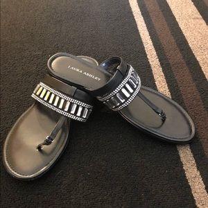 🌈🌈🌈Laura Ashley black sandals